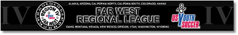2010 Far West Regional League Fall banner